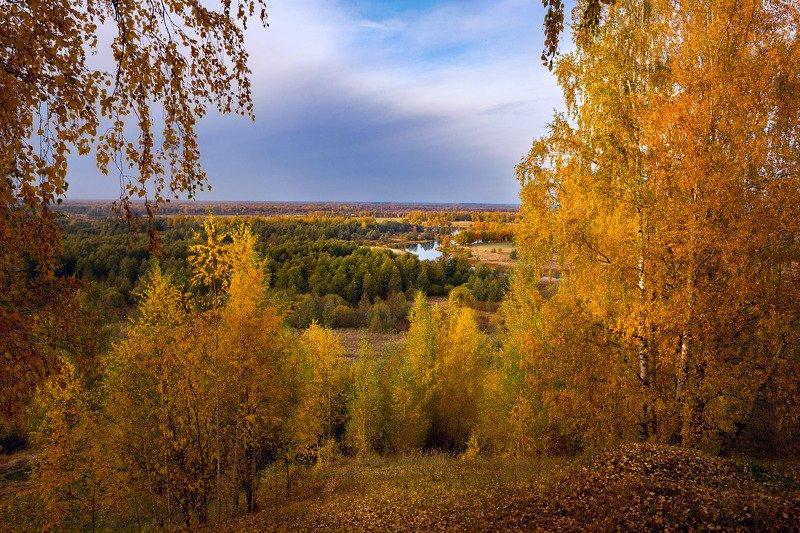 вечер осень октябрь быковка вязники Осенний вечерphoto preview