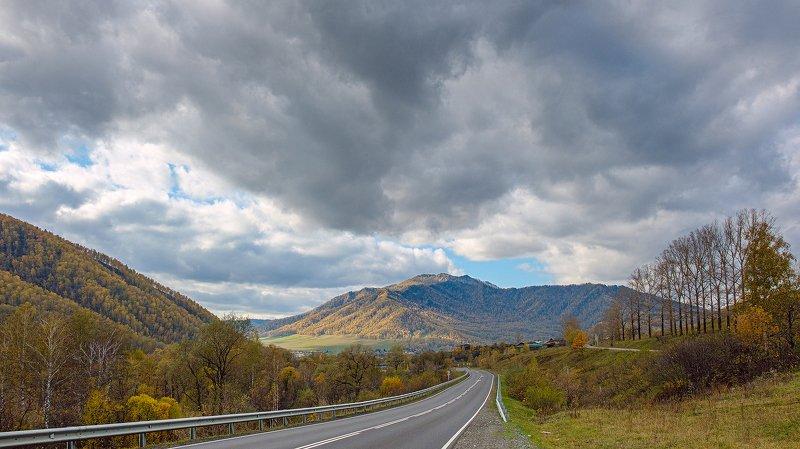 пейзаж, горы, осень, Горный Алтай  Суровый Алтайphoto preview