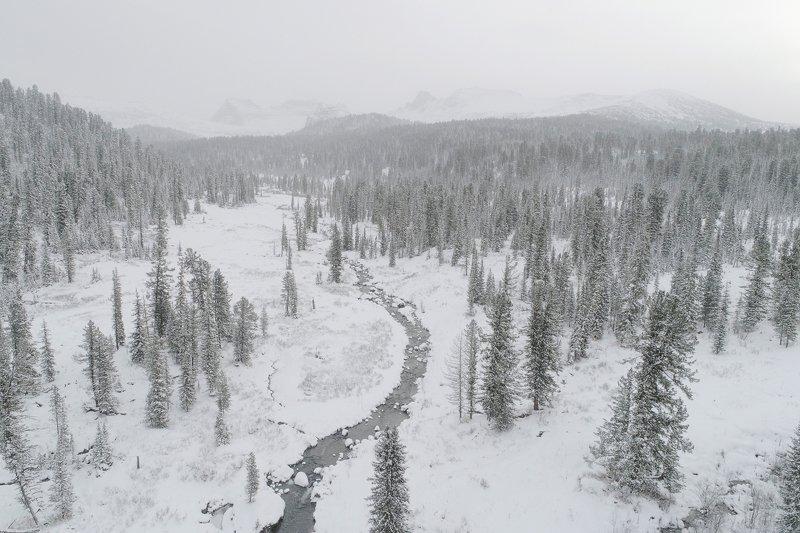 ергаки, красноярские, пейзаж, саяны зима, туман, природный парк хайкинг, тревел, туризм Зимние Ергакиphoto preview
