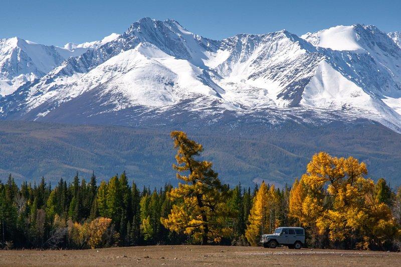 Утро. Северо - Чуйский хребет.photo preview