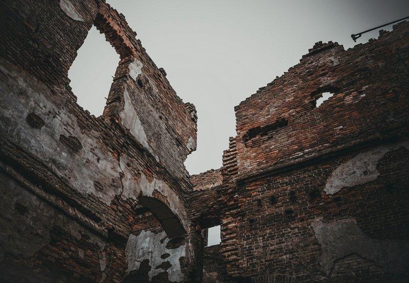 апокалипсис, кирпич, мрак, разруха, разрушение, стена collapsephoto preview