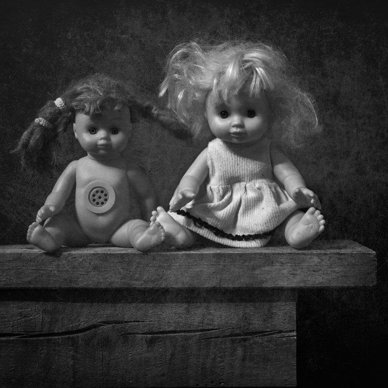 черно-белое Куклыphoto preview