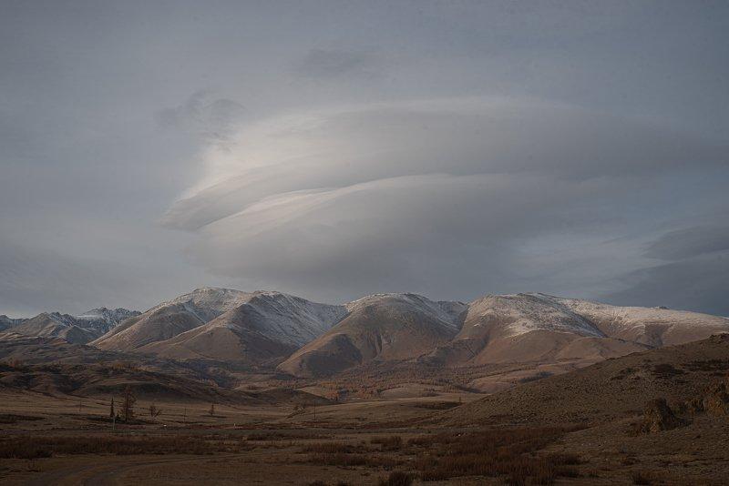 Алтай, Пейзаж, горы облакоphoto preview