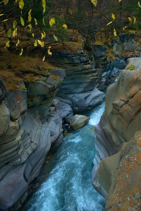 Река чегем - теснинаphoto preview