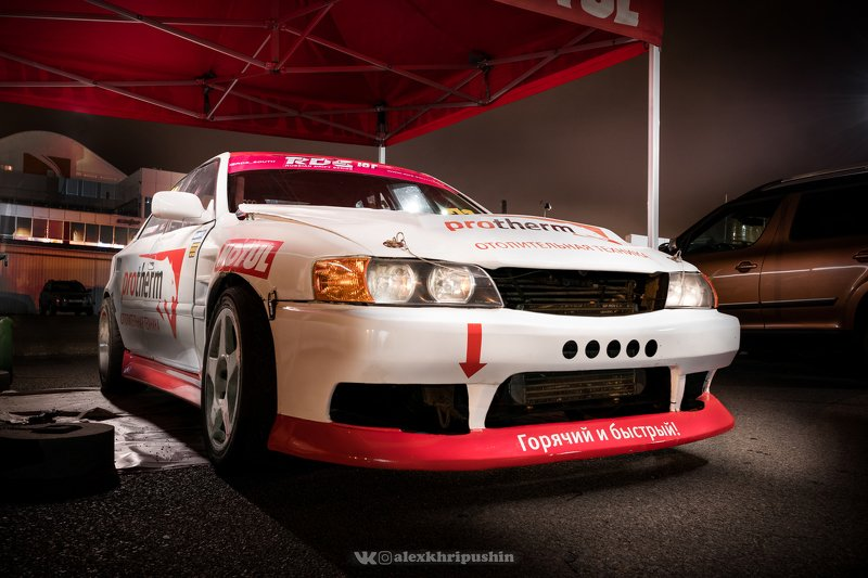 automotive Night before the driftphoto preview