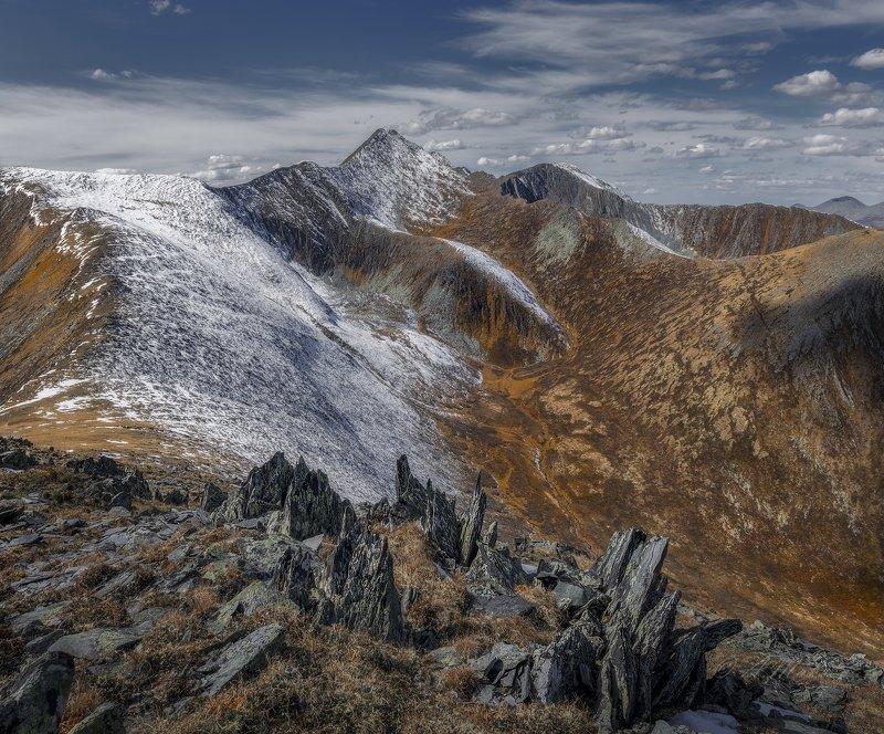 хакасия, горная хакасия, саянский перевал, позарым Саянский перевалphoto preview