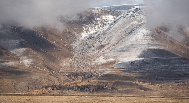 пейзаж, природа, Алтай, landscape, nature в облакахphoto preview