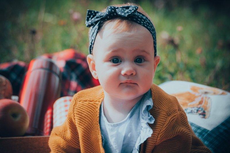бантик, глаза, девочка, дитя, ребенок, дети little girlphoto preview