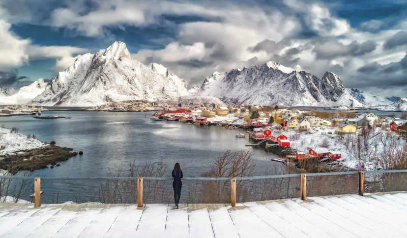 norway,lofoten islands, reine,лофотены, норвегия, Lofotensphoto preview