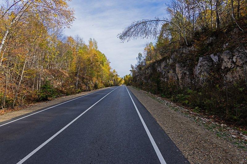 Дорога в осень ...photo preview