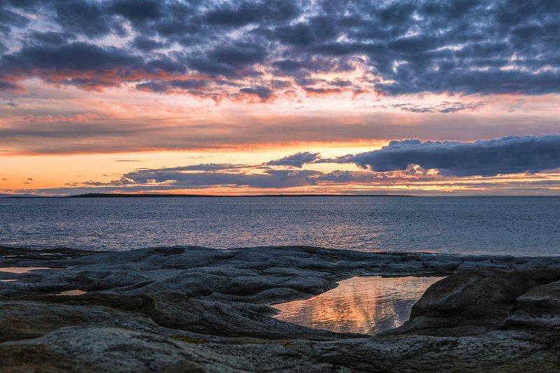 вечер, закат, средний ***photo preview