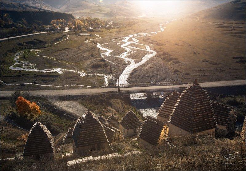 Россия, Северная Осетия, Даргвас, город мертвых Даргвас - город мертвых photo preview