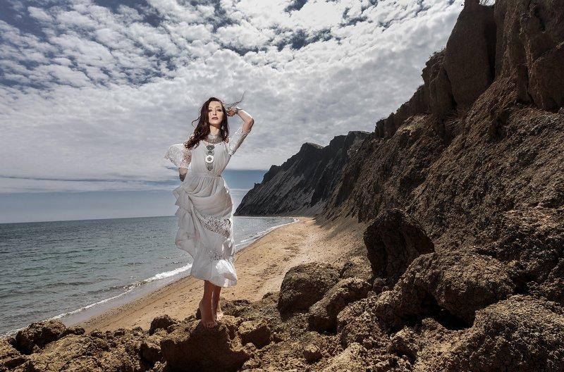крым, девушка, море, гламур photo preview