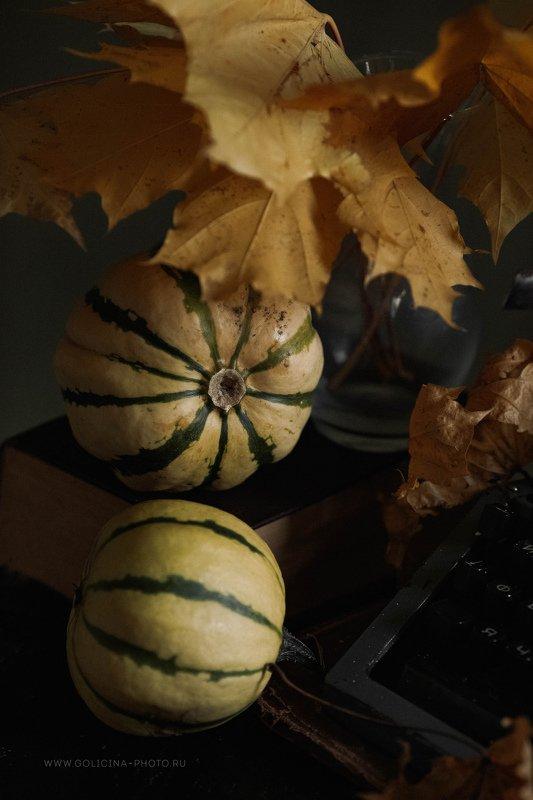 тыквы полосатики натюрморт голицына ***photo preview