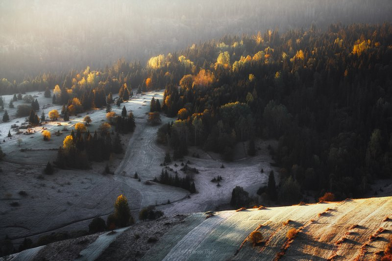 Spisz in the fall, Slovakia.photo preview