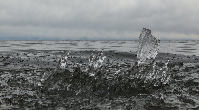 Байкальский лед Байкал  Время собирать осколки photo preview