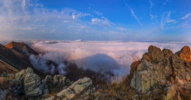 горы,осень,облака, бештау,природа,пейзаж Над облакамиphoto preview
