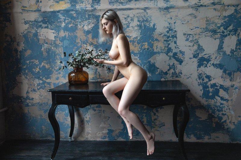 обнаженная, натура, портрет, девушка, Еваphoto preview