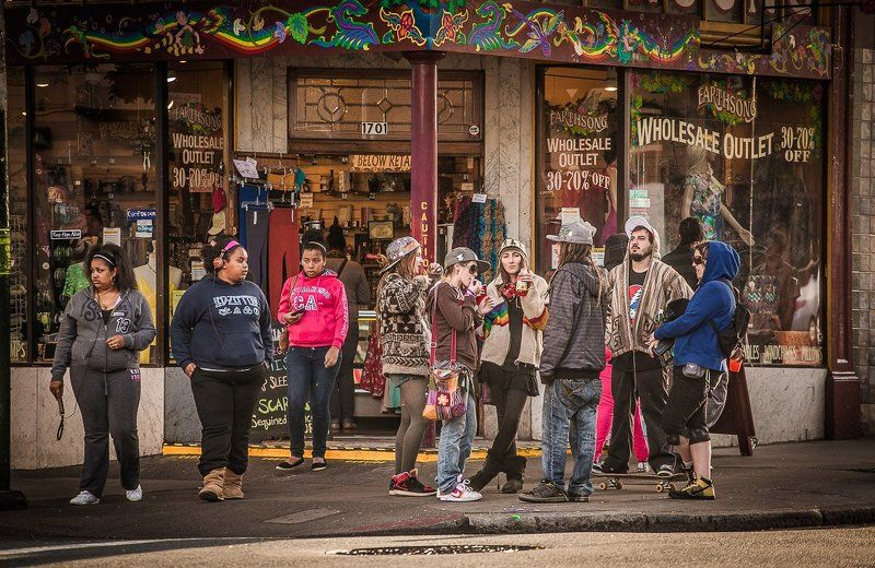 Haight street ( San-Francisco)photo preview
