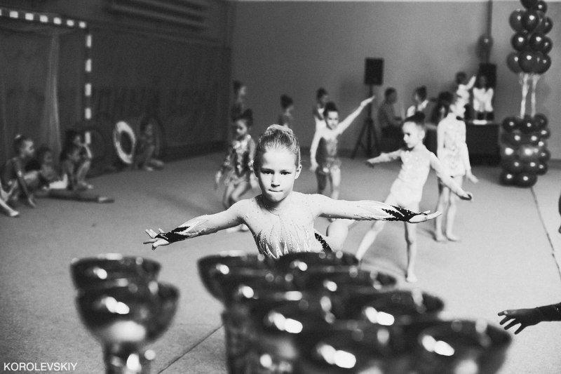 Детская художественная гимнастикаphoto preview