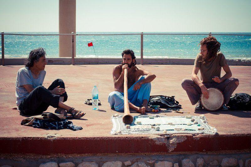 Уличные   музыканты.photo preview