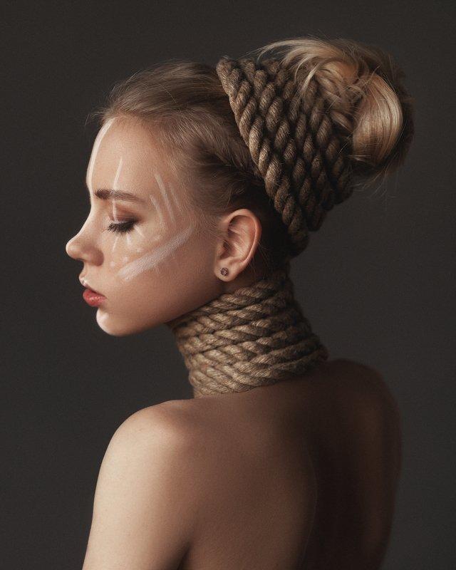 портрет, студия, артпортрет, модель Nastyaphoto preview