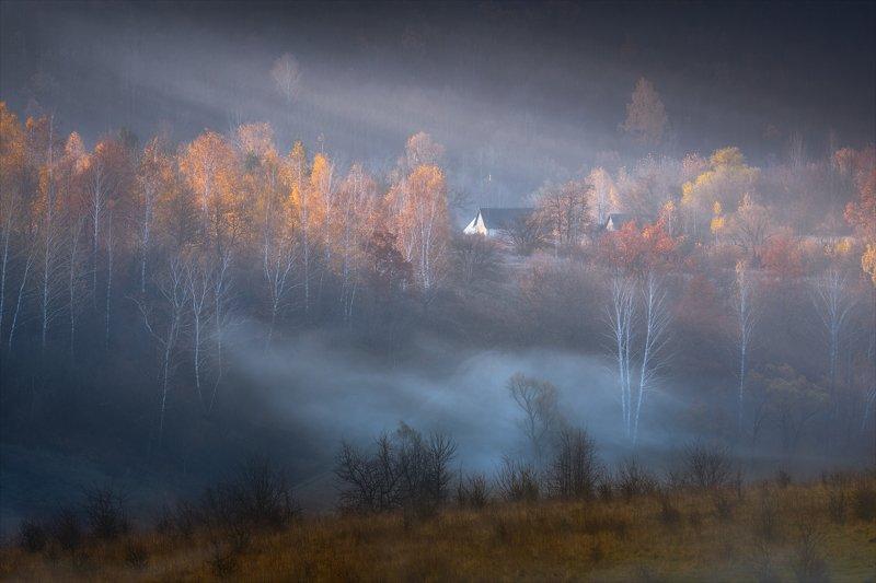Деревенское утро.photo preview