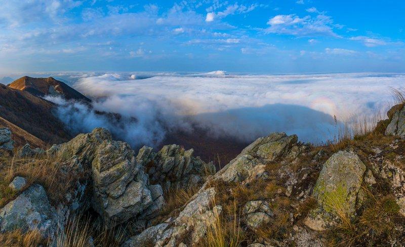 облака,бештау,осень,природа,пейзаж,вершина Над облаками-2photo preview