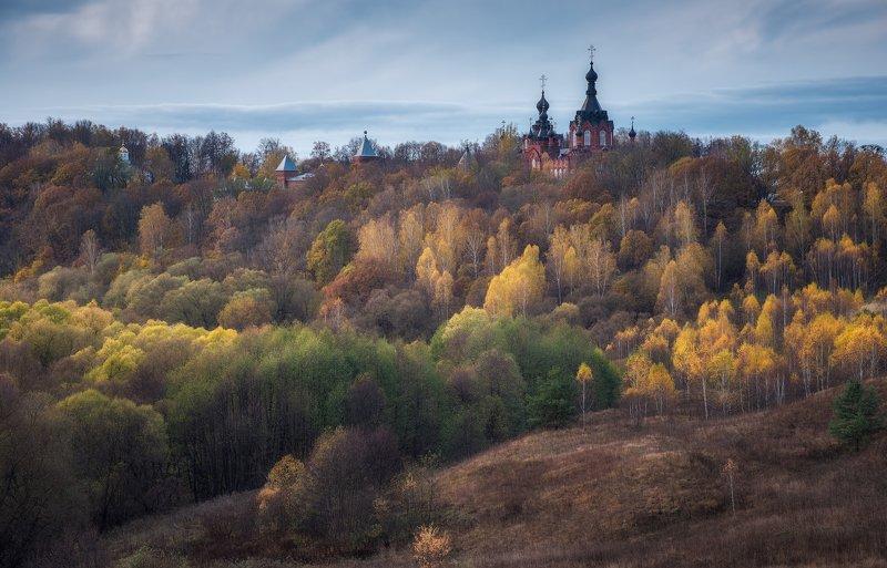шамордино, осень, пейзаж Шамординоphoto preview