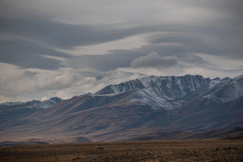 пейзаж, Алтай в облакхphoto preview