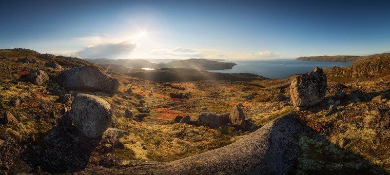 баренцево море, териберка, губа орловская, кольский Под солнцем северных берегов...photo preview