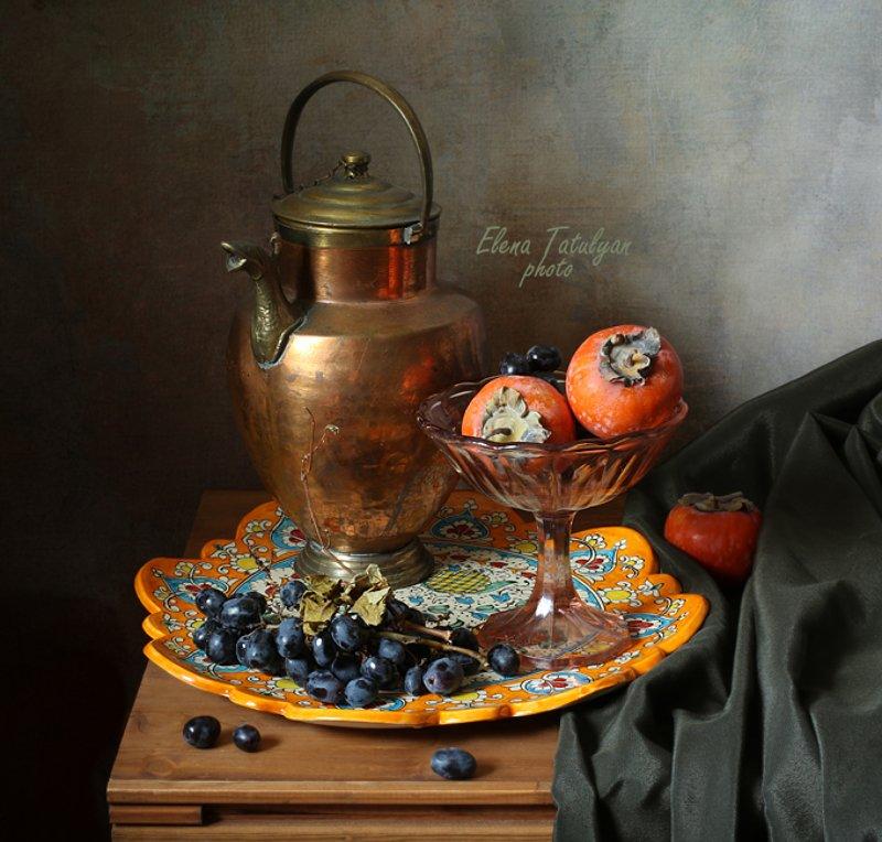 Осенние фрукты фото превью