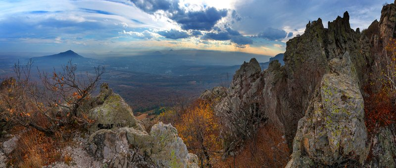 осень,скалы,дуб,октябрь,природа,пейзаж,бештау Последний день октябряphoto preview
