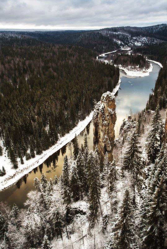усьва, урал, река, усьвинские столбы, камень, горы Усьвинские столбыphoto preview