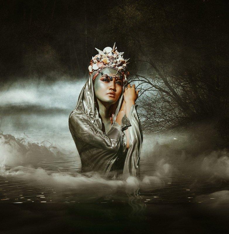 mermaid, portrait, mongolia Mermaidphoto preview