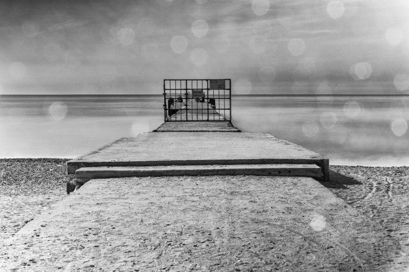 чб, черно-белая фотография, монохром, пейзаж, море, минимализм, bnw, black and white, monochrome, seascape, landscape, minimal, minimalism, long exposure,  ***photo preview