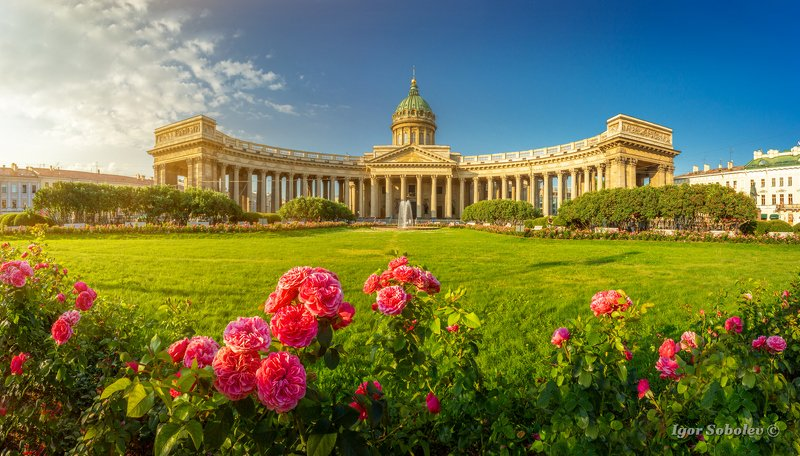 казанский собор, санкт-петербург., панорама Казанский соборphoto preview