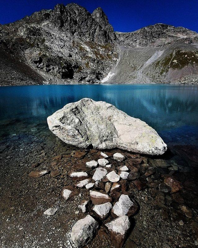 архыз, вода, камни, озеро, горы Софийские  озераphoto preview