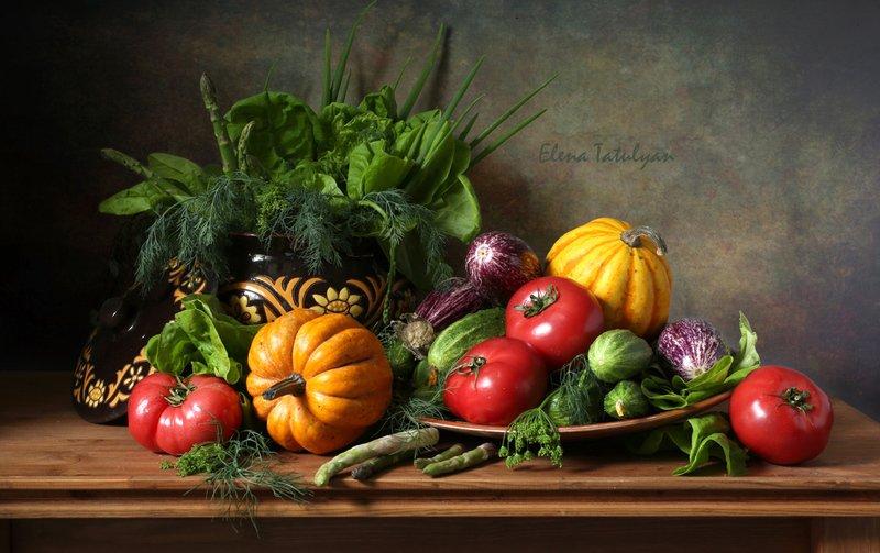 овощи Овощной пир фото превью