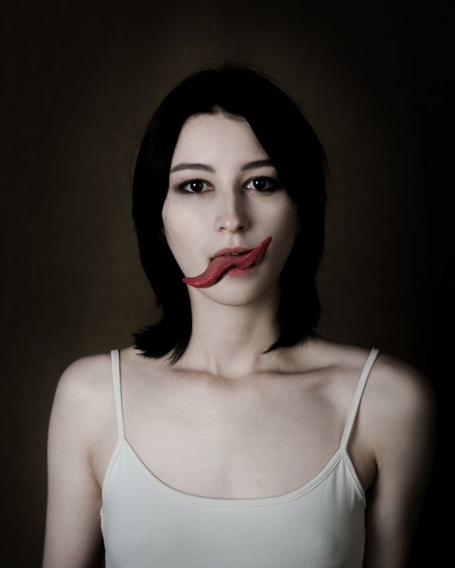 kiss tongue art portrait nikon Kiss Mephoto preview
