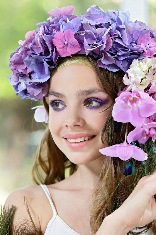 портрет, флористика, цветы, люди образы эпохи Закатphoto preview