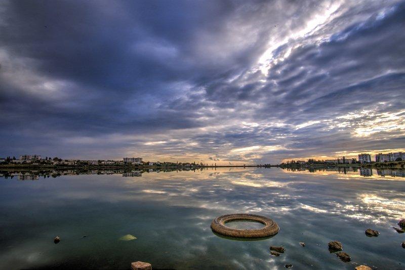 пейзаж, город, Крым, вода, облака, небо Городские зарисовкиphoto preview