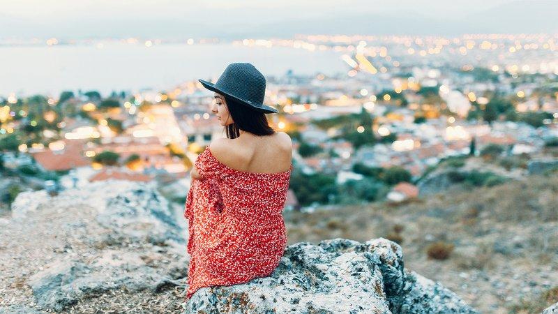 woman, nature, turkey Анжелаphoto preview