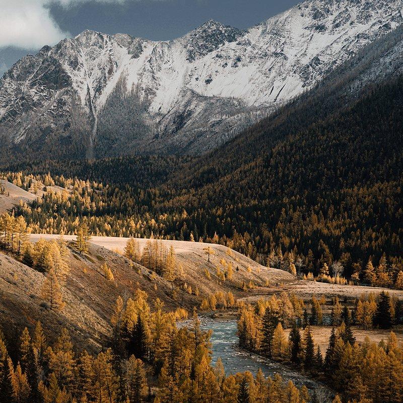 яркий день в горахphoto preview