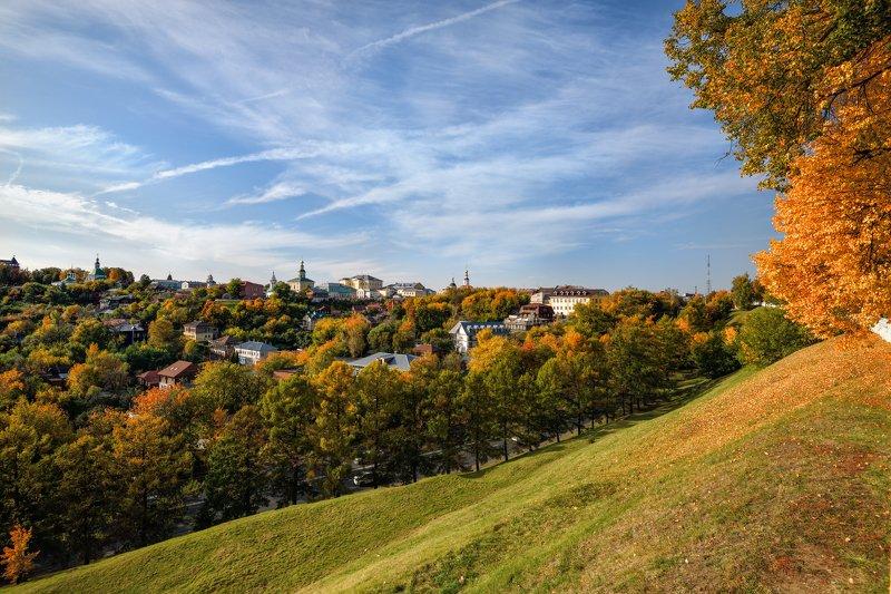 осень,город,вид,краски,владимир осенний городphoto preview