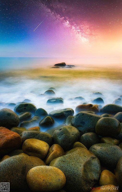 quanphoto, landscape, nature, seascape, long_exposure, rocks, vietnam Symphony of the Seaphoto preview