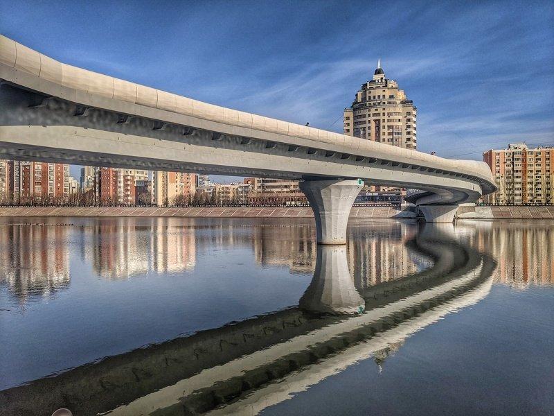 мост, изгибы, линии Изгибы городских мостов.2photo preview
