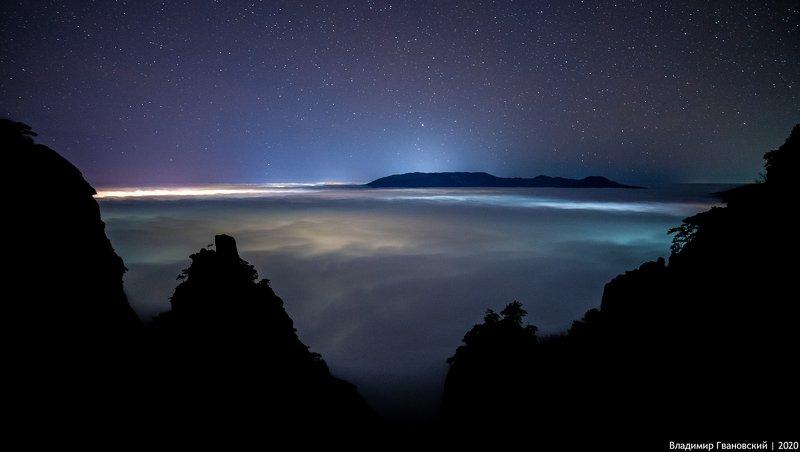 Ночной океанphoto preview