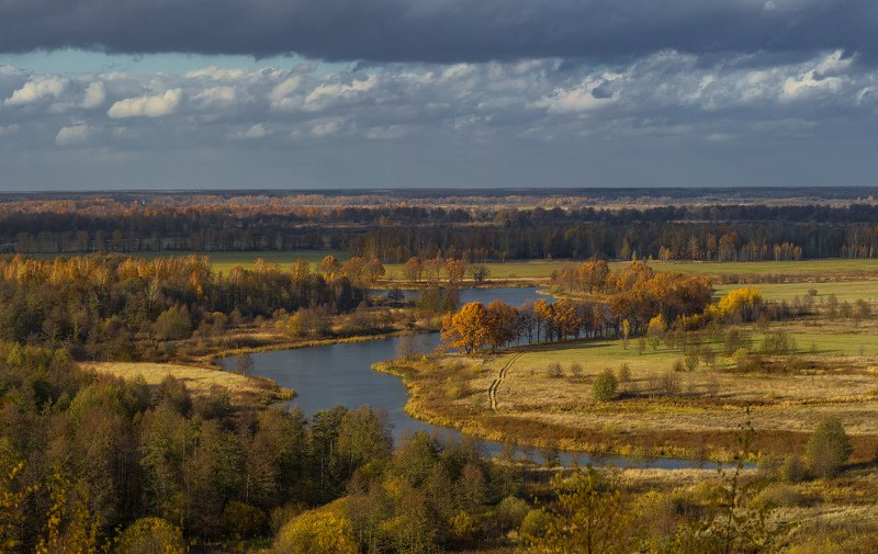 осень октябрь венец быковка текмаш Осенние контрастыphoto preview