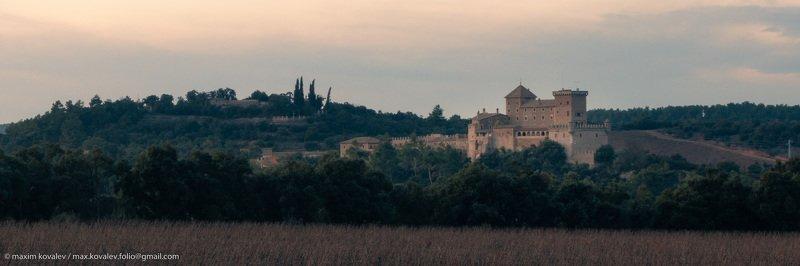 catalonia, catalunya, cataluña, europe, hdr, ruidabella, spain, architecture, castle, gloaming, landscape, panorama, twilight, winter, европа, испания, каталония, архитектура, замок, зима, панорама, пейзаж, сумерки, dusk Испания зимой. Руидабелла / Spain in winter. Ruidabellaphoto preview
